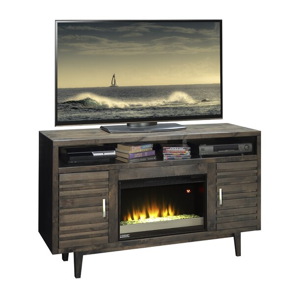 Calavar 61 TV Stand with Fireplace by Loon Peak
