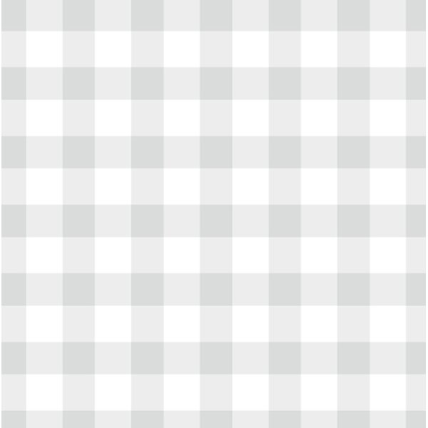 Felan 48 H x 24 W Plaid & Gingham Peel and Stick Wallpaper Sheet by August Grove