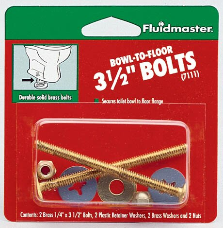 Bowl-To-Floor Bolts by Fluidmaster