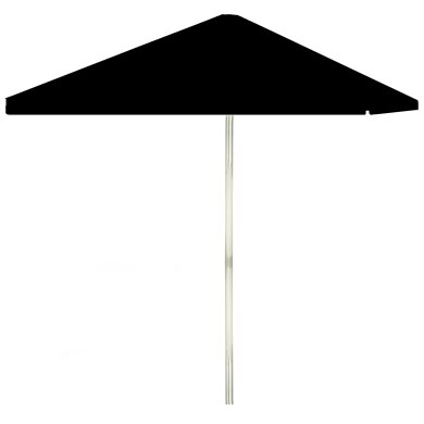 Champagne 6' Square Market Umbrella by Best of Times