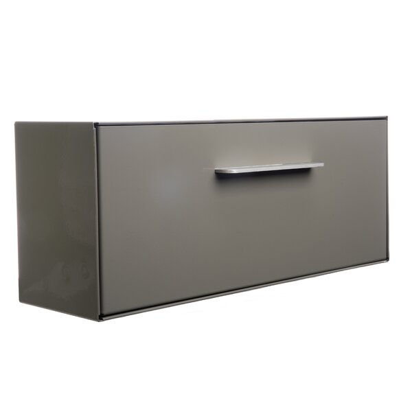 Modern Angled Wall Mounted Mailbox by Modbox USA