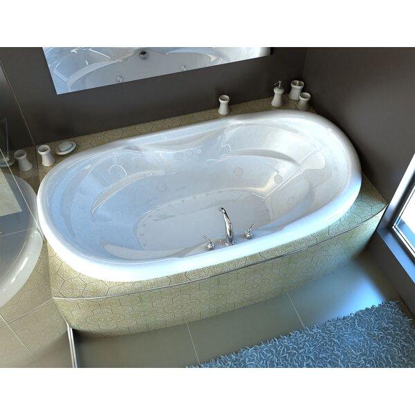 Antigua 70 x 41 Drop In Bathtub by Spa Escapes