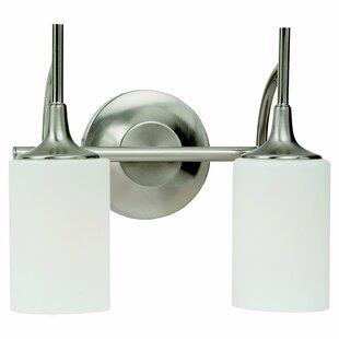 Affordable Foland 2-Light Vanity Light By Alcott Hill