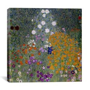 'Bauerngarten (Flower Garden)' by Gustav Klimt Graphic Art Print by East Urban Home
