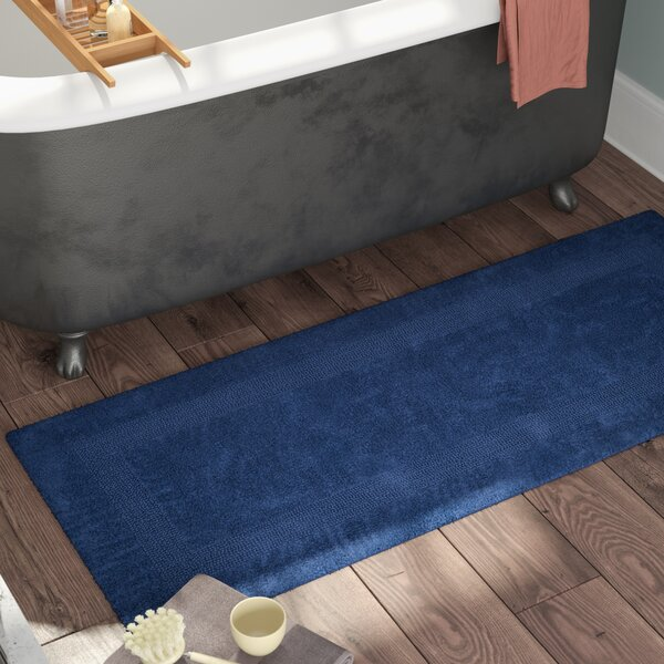 Berndt Extra Long Reversible Bath Rug by Three Posts