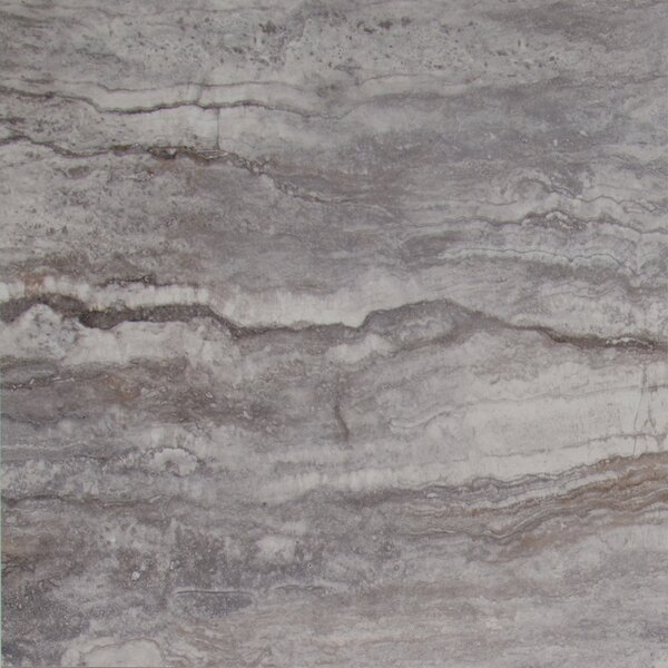 Pietra Bernini 18 x 18 Porcelain Field Tile in Gray by MSI