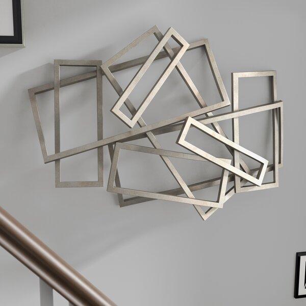 Rectangles Iron Wall Décor by Orren Ellis