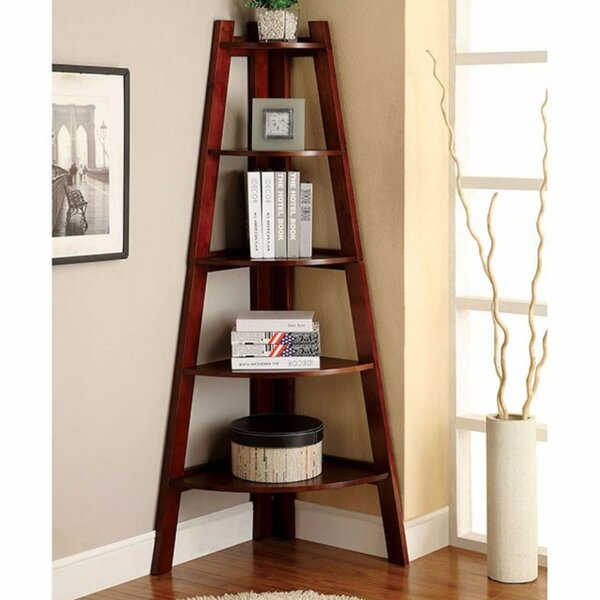 Henwood Contemporary Ladder Bookcase by Red Barrel Studio