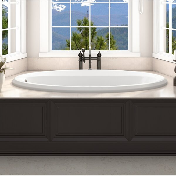 Signature® 60 x 36 Drop In Whirlpool Bathtub by Jacuzzi®