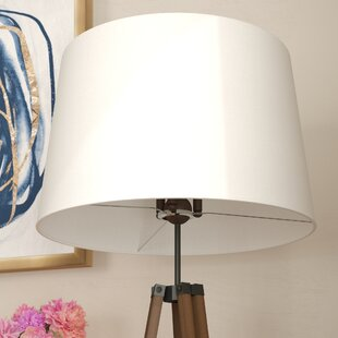 Uno lamp shades youll love wayfair blumberg asymmetrical 20 linen drum lamp shade aloadofball Images