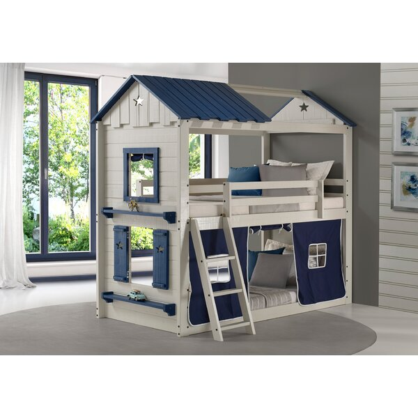 Schmeling Twin Over Twin Bunk Bed by Zoomie Kids