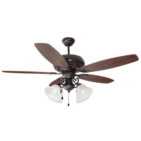 52 Drake 5 Blade Ceiling Fan by Design House
