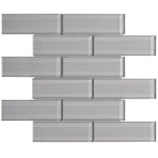 Premium Series 2 X 6 Gl Subway Tile In Dark Gray