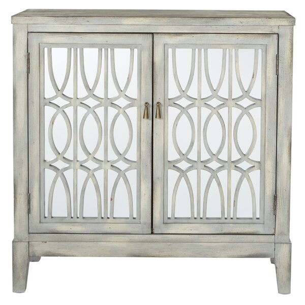 Brilliana Storage 2 Doors Accent Cabinet by Everly Quinn Everly Quinn
