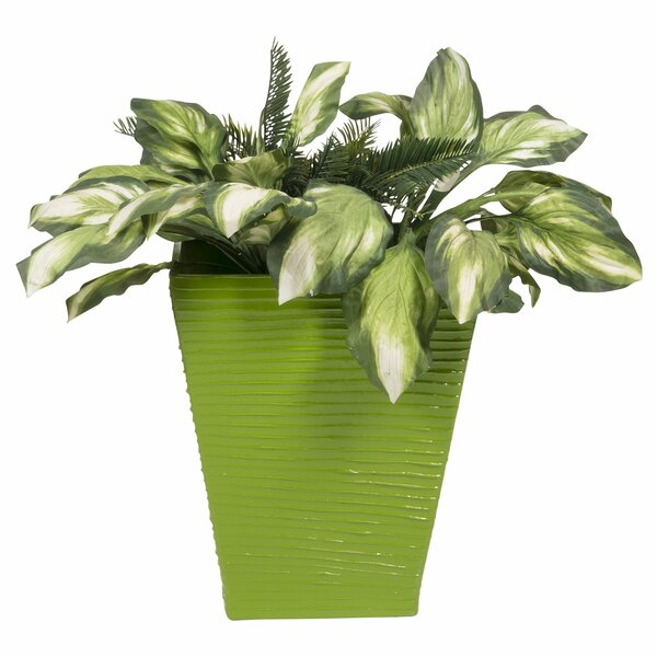 Modern Resin Pot Planter by PoliVaz