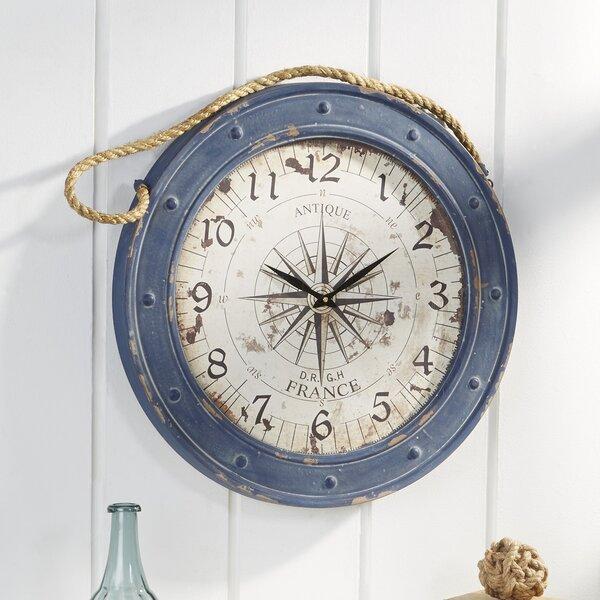 Seabrooke Compass Wall Clock by Birch Lane™| @ $120.00