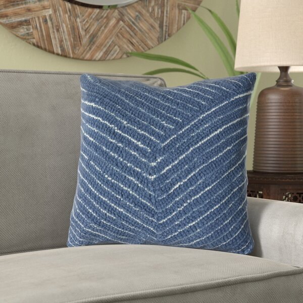 Ponton Diagonal Stripe Throw Pillow by Bloomsbury Market
