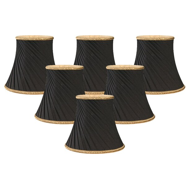 5 Silk Bell Candelabra Shade (Set of 6) by Royal Designs