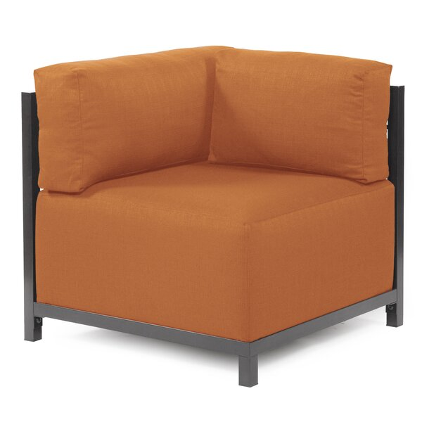 Outdoor Furniture Lund Box Cushion Wingback Slipcover