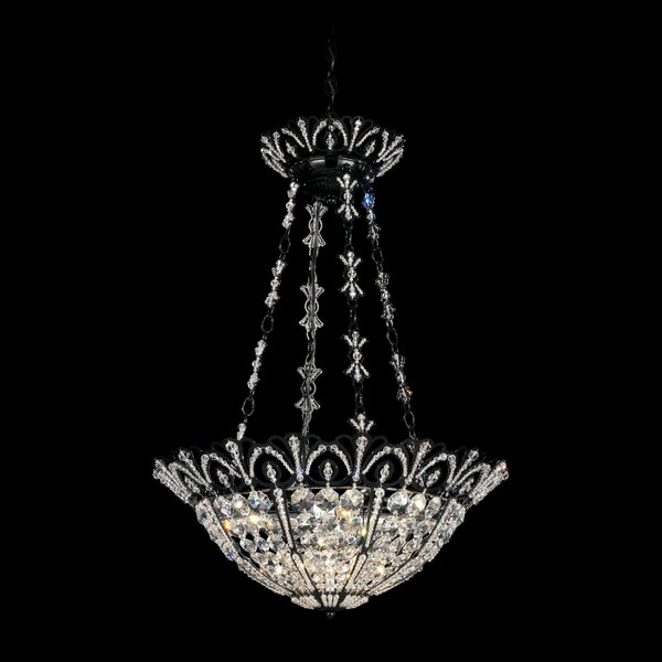 Tiara 4-Light Crystal Pendant by Schonbek