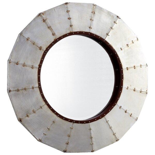 Steel Wheel Mirror by Cyan Design