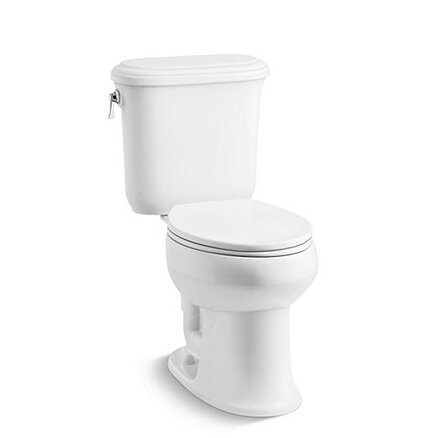 Kennebec Elongated Two-Piece Toilet by Kallista