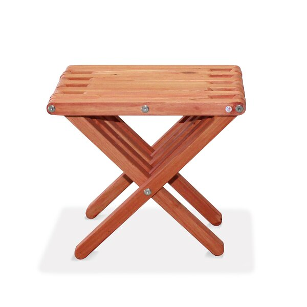 Danwood Solid Wood Side Table by Union Rustic Union Rustic