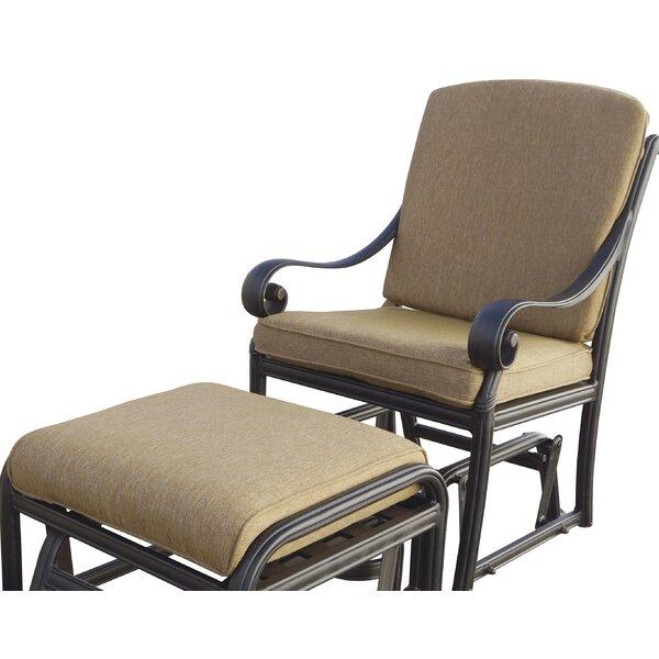 Windley Deep Seating Patio Chair with Cushion by Fleur De Lis Living Fleur De Lis Living