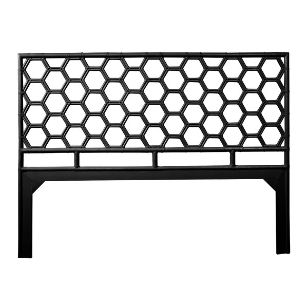 Honeycomb Open-Frame Headboard by David Francis Furniture