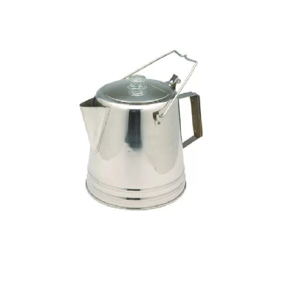 28 Cup Stainless Percolator Coffee Maker by Texsport
