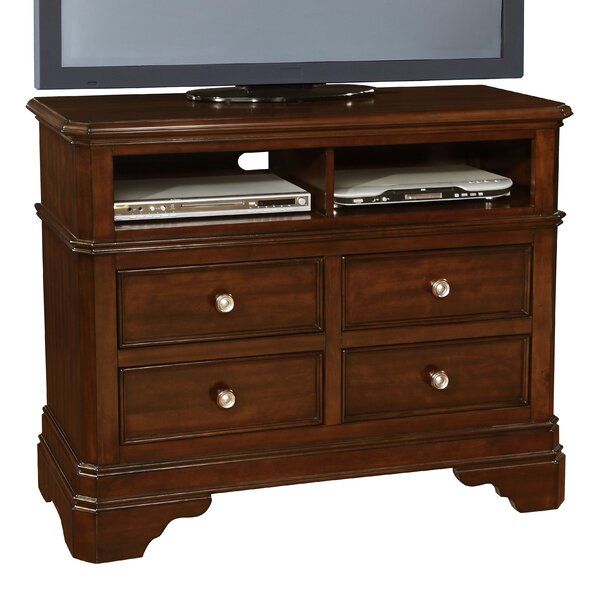 Bayliss 4 Drawer Media Chest by Wildon Home ®