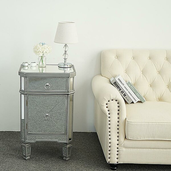 Mazzola 1 Drawer Nightstand By House Of Hampton