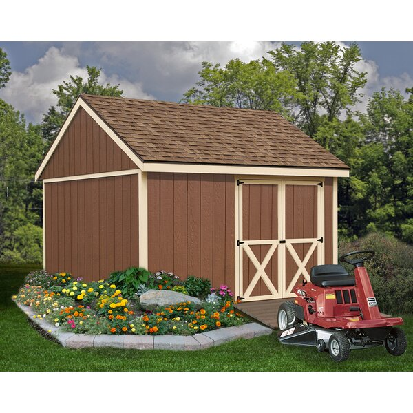 Mansfield 12 ft. W x 12 ft. D Solid Wood Storage Shed by Best Barns