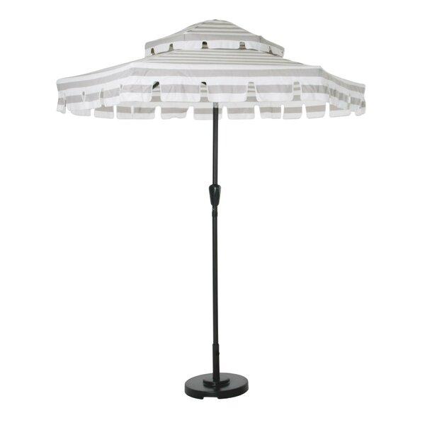 Connie Stripes 6.7' Beach Umbrella by Novogratz Novogratz