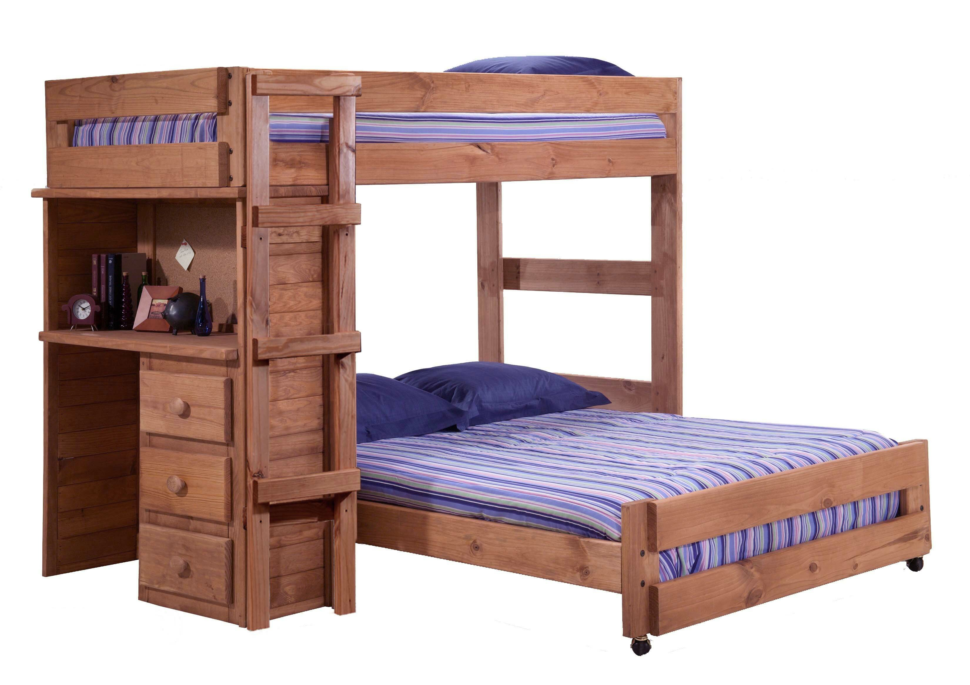 Wood Bunk Bed With Desk Cheaper Than Retail Price Buy Clothing Accessories And Lifestyle Products For Women Men