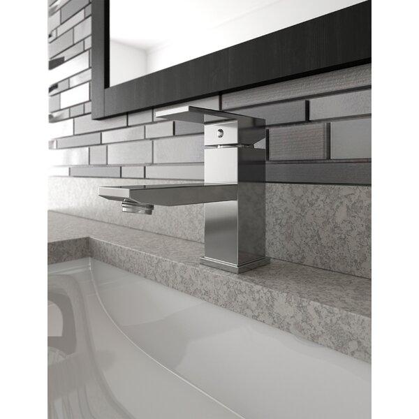Karsen Single Hole Single-Handle Bathroom Faucet In Satin Nickel By Design House