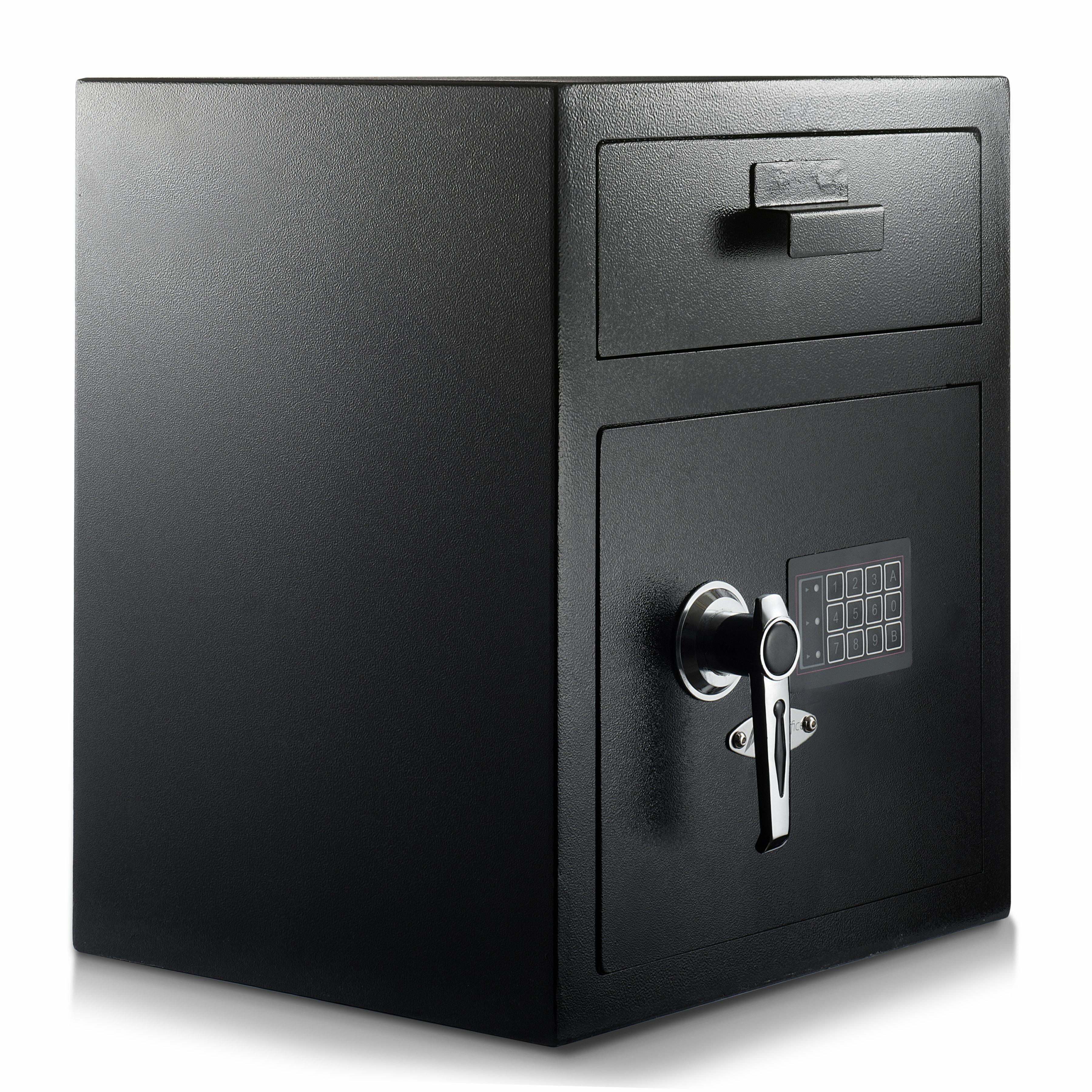 Home & Garden Security Safe Deposit Drop Box Cash Gun Depository ...