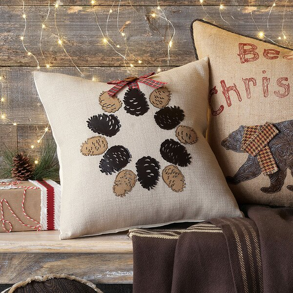 Studio 773 Pinecone Throw Pillow by Eastern Accents