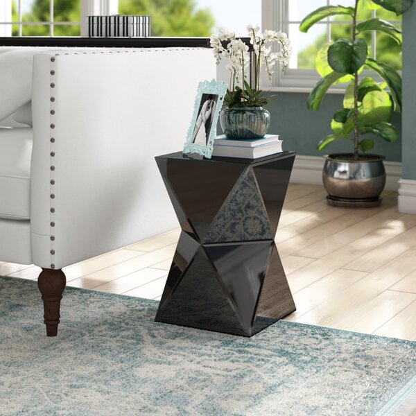 Mackenzie End Table in Black by Willa Arlo Interiors