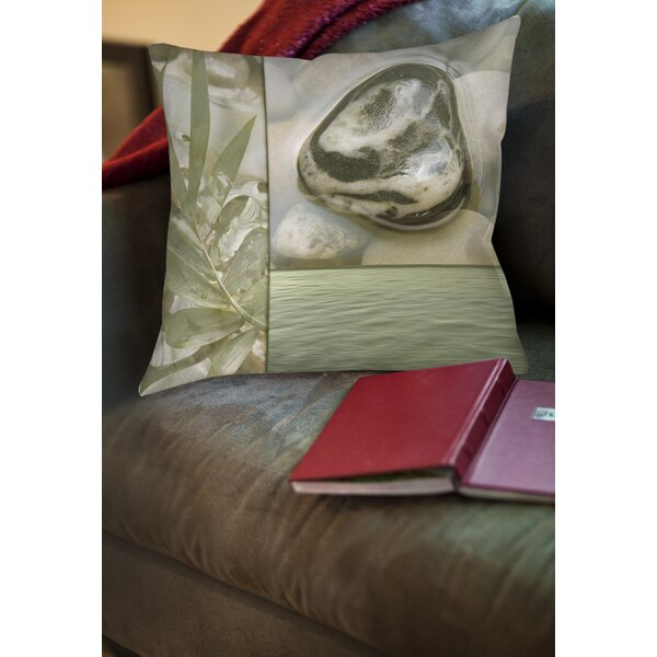 Natural Elements 4 Printed Throw Pillow by Manual Woodworkers & Weavers