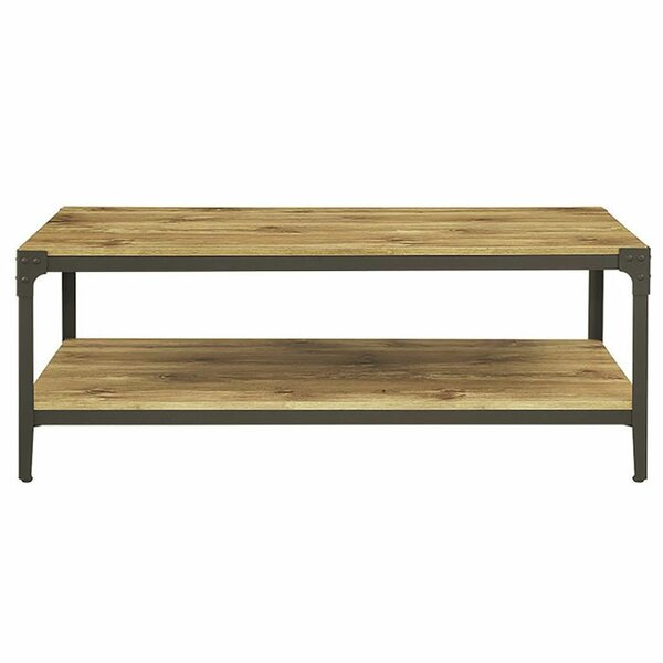Rectangle coffee tables you39ll love wayfair for Wayfair industrial coffee table