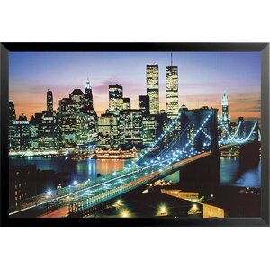 The City that Never Sleeps - New York City Framed Photographic Print by Buy Art For Less