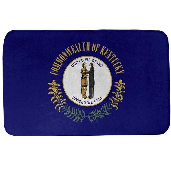 Fawcett Kentucky Flag Bath Rug
