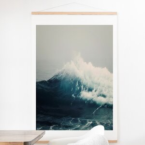 'Sea Wave' Photographic Print by East Urban Home