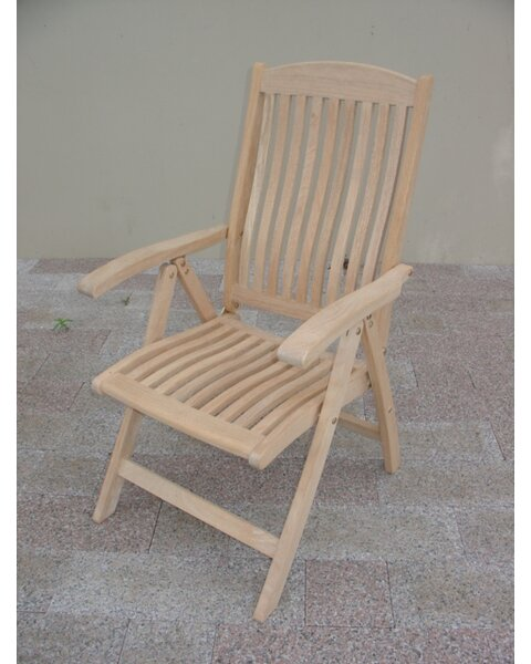 Roble Folding Teak Patio Dining Chair by Royal Teak by Lanza Products