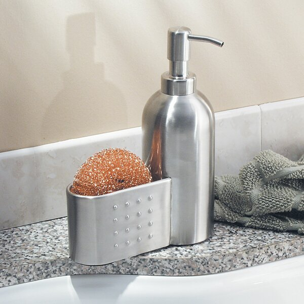 Pump and Sponge Caddy Soap Dispenser by InterDesign