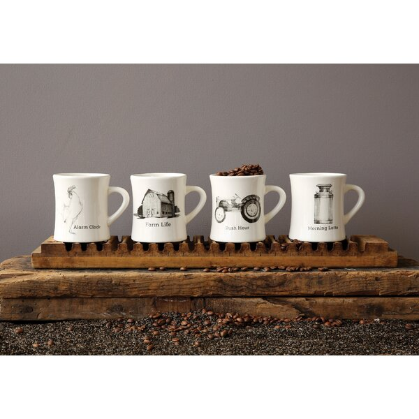 Farm Life Mugs (Set of 4) by Birch Lane™