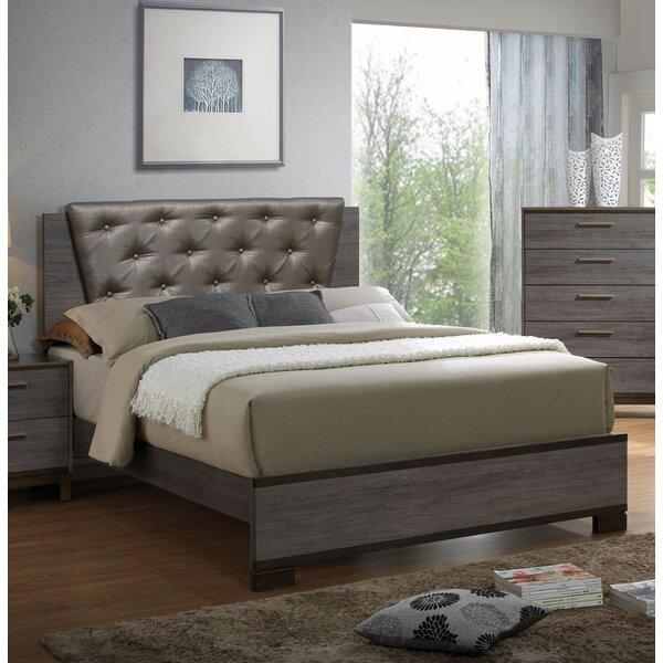 Howa Upholstered Standard Bed by Trent Austin Design