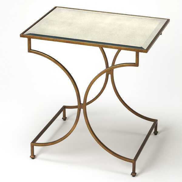 Leeson End Table by Everly Quinn