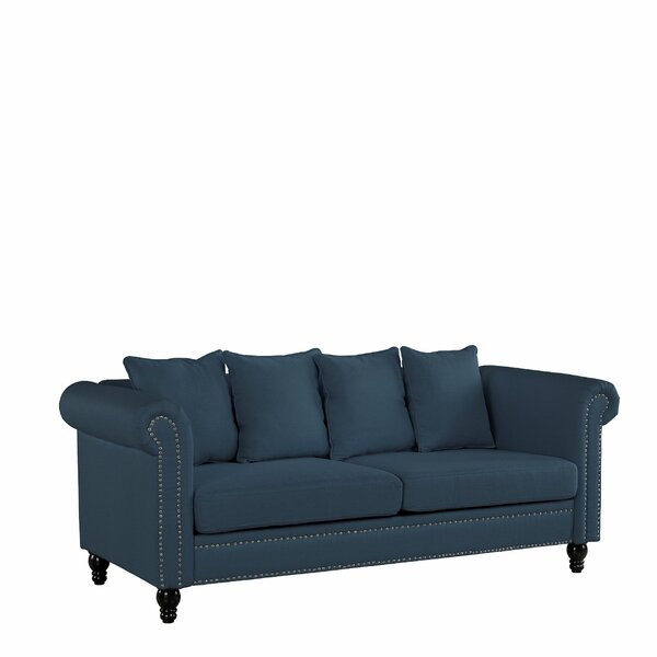 Blue Heron Classic Sofa by Alcott Hill